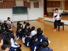 学生の食育指導(年中)