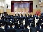 附属小学校ひな祭り茶会(年長)