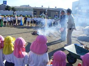 焼き芋パーティー(11月7日)