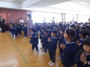 終業式(12月21日)