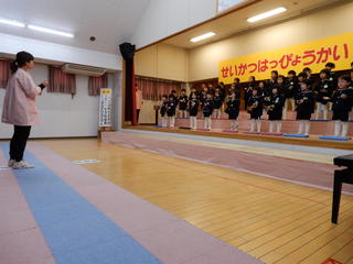 生活発表会(年中組)