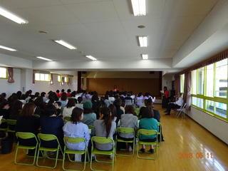 保護者会総会と公開保育がありました(5月11日)