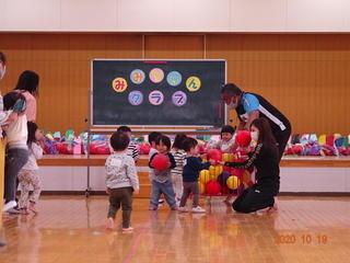 みみちゃんクラブで「みみちゃん運動会」(10月19日)