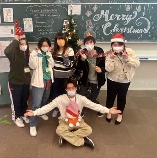 ラウンジMELTでクリスマスパーティーが開催されました