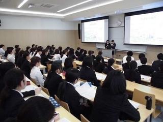 平成29年度 実習病院による学内就職支援ガイダンスを開催しました。