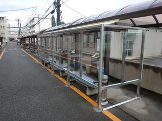 岐阜キャンパスに喫煙所が完成しました。