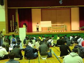 岐阜キャンパスで新入生歓迎会を行いました。