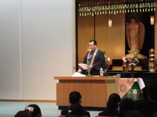 平成30年度 報恩講の集い(短期大学部)が開催されました。