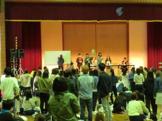 岐阜キャンパスでも新入生歓迎会を行ってます!