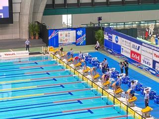 【水泳部】鈴木莉子選手が「第96回 日本学生選手権水泳競技大会」にて7位入賞!!