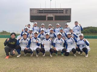 女子ソフトボール部が東海Ⅰ部リーグに昇格しました