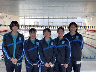 水泳部「第97回 日本学生選手権水泳競技大会」出場決定!