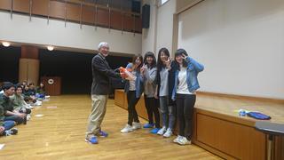 短期大学部フレッシュマンキャンプを開催