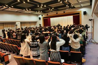 短期大学部で入学前準備講座を開催しました